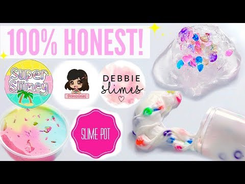100% HONEST Underrated Instagram Slime Shop Review! Non-Famous US Slime Package Unboxing