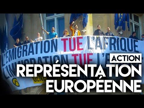 Immigration : Génération Identitaire occupe le siège de la Commission européenne à Paris (MàJ : vidéo)