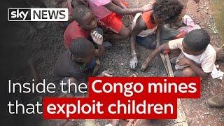 Élet a kongói kobalt bányákban [angol]