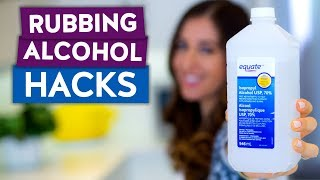 5 AMAZING HACKS Using Only Rubbing Alcohol!