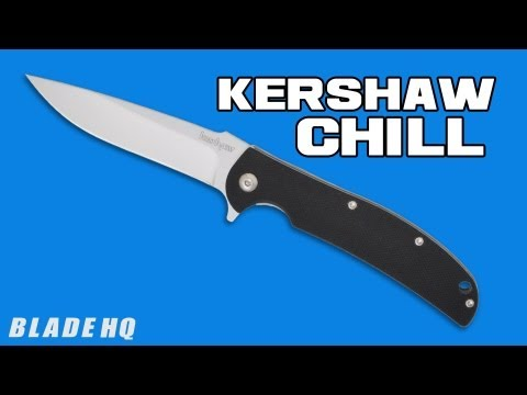 "Kershaw Chill Liner Lock Flipper Knife (3.125"" Bead Blast) 3410"