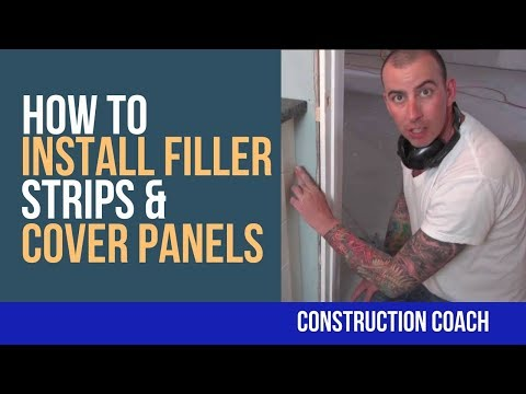 How to install Filler Strips & Cover Panels - DIY