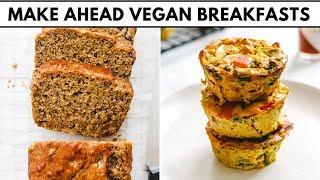 4 Make-Ahead Vegan Breakfasts (Healthy & Freezer Friendly)
