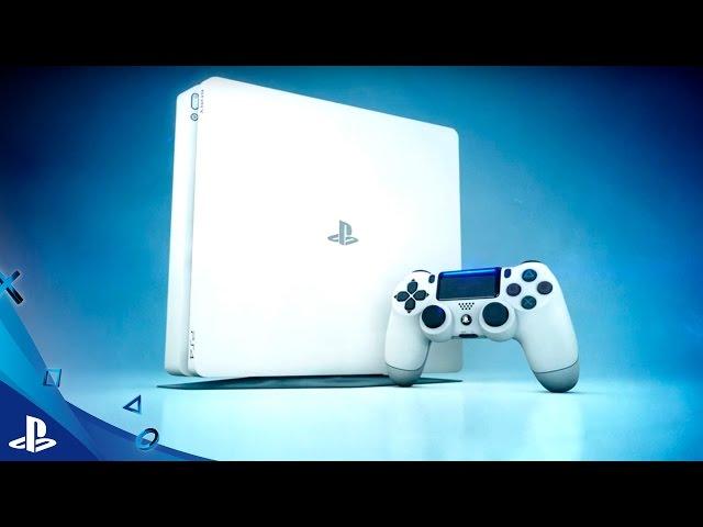 DESCUBRE la nueva PS4 GLACIER WHITE