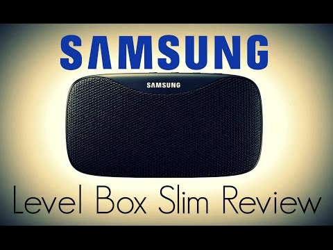 Samsung Level Box Slim Bluetooth Speaker Review - Premium and Compact