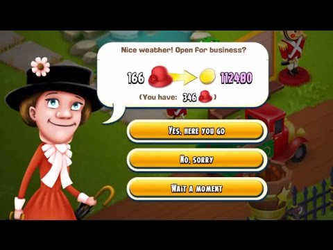 Hay Day - Visitor Bonus 2x Coins | Making Money in Hay Day #2