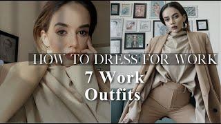 How To Dress For Work: Layering & Elegant 9 To 5 Fashion | Komal Pandey