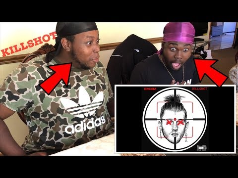 Eminem MURDERED MGK - KILLSHOT REACTION