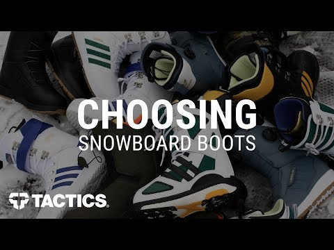 How To Choose Snowboard Boots - Tactics