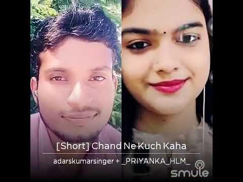 Chand Ne Kuchh Kaha | Magical Voice | short duet | adarshkumarsinger
