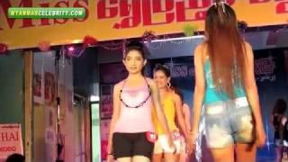 Video: Miss Shwe Pyae Sone Beauty Contest 2012