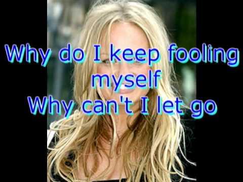 Maybe Emma Bunton with lyrics on screen fleursqueen
