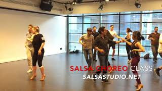 Have you graduated to Salsa Choreo class?