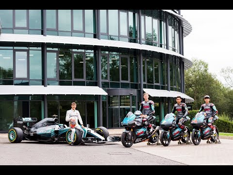 2 Wheels Meets 4 with Petronas Mercedes AMG F1