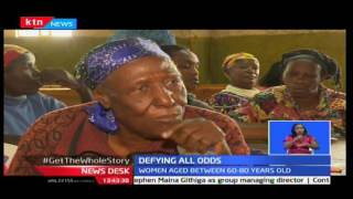 Elderly women in Kawangare defy all odds by joining adult literacy classes