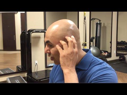 Rückenschmerzen auf das linke Schulterblatt strahl