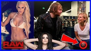 WWE BREAKING NEWS: PAIGE IGNORED BY WWE, DEAN AND RENEE MARRIED, LANA AIRPORT SITUATION