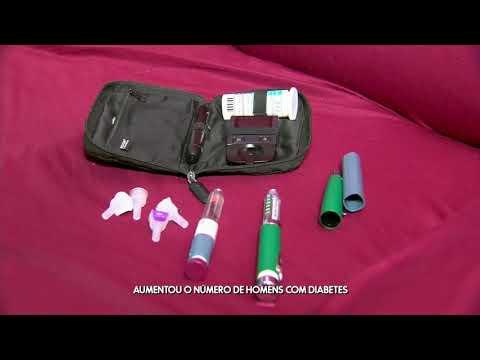 Sistema de medição de açúcar no sangue