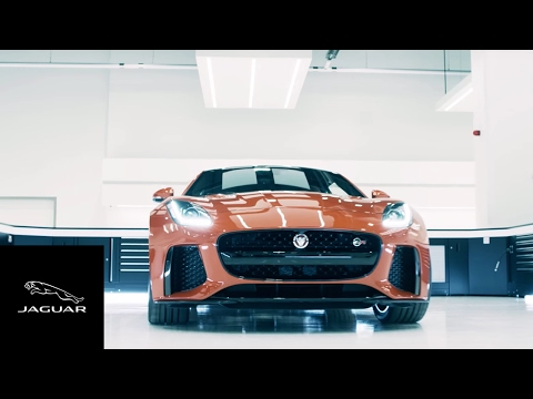 Jaguar F-Type SVR 2017