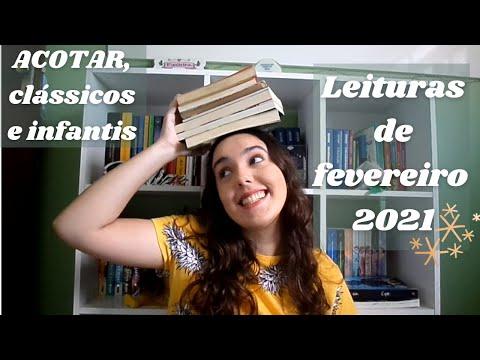 Leituras de fevereiro/2021 (7 livros) - Acotar, clássicos e livros infantis   Laís Mesquita