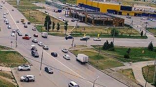 ДТП (авария г. Волжский) ул. Карбышева ул. Александрова 16-06-2017 11-25