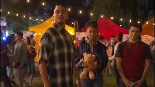 Spooky talks to 19th street at the festival | On My Block season 3 (720p60)