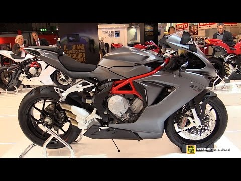2015 MV Agusta F3 675 - Walkaround - 2014 EICMA Milano Motocycle Exhibition