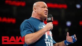 RAW: Triple H y Batista a enfrentarse en WrestleMania; Angle a retirarse; Regresa Benjamin; McIntyre