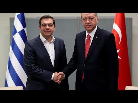 Σε θετικό κλίμα η συνάντηση Τσίπρα-Ερντογάν στη Νέα Υόρκη …
