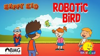 Happy Kid | Robotic Bird | Episode 75 | Kochu TV | Malayalam