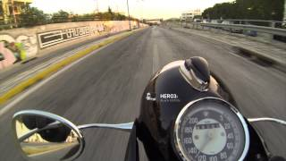 GoPro Hero3 vs Hero1 test on my BMW R69S
