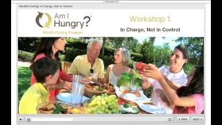 Am I Hungry Online Mindful Eating Program Preview | Mindful Eating for Workplace Wellness