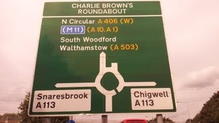 preview picture of video 'Wanstead Practical Test Routes - Charlie Brown Roundabout Pt 2'