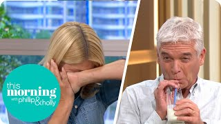 Phillip & Holly Try Fermented Milk | This Morning