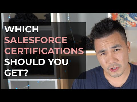 Which Salesforce Certifications Should You Get? - YouTube