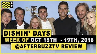 Days Of Our Lives for October 15th - October 19th, 2018 Review & After Show