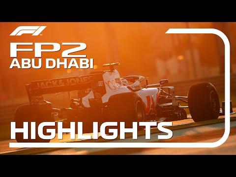 F1 第17戦アブダビGP FP2ハイライト動画