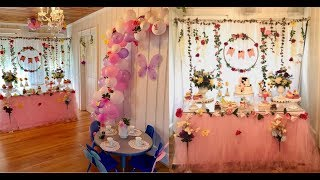 Fairy Birthday Party Theme Decorating Ideas