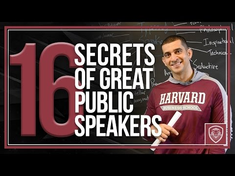 How to Become a Great Public Speaker