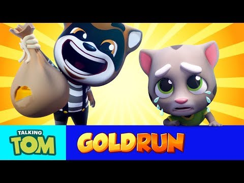 Download Talking Tom Gold Run - MEGA TRAILER (Cartoon Compilation) HD Mp4 3GP Video and MP3