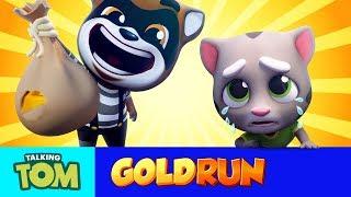 Talking Tom Gold Run - MEGA TRAILER (Cartoon Compilation)