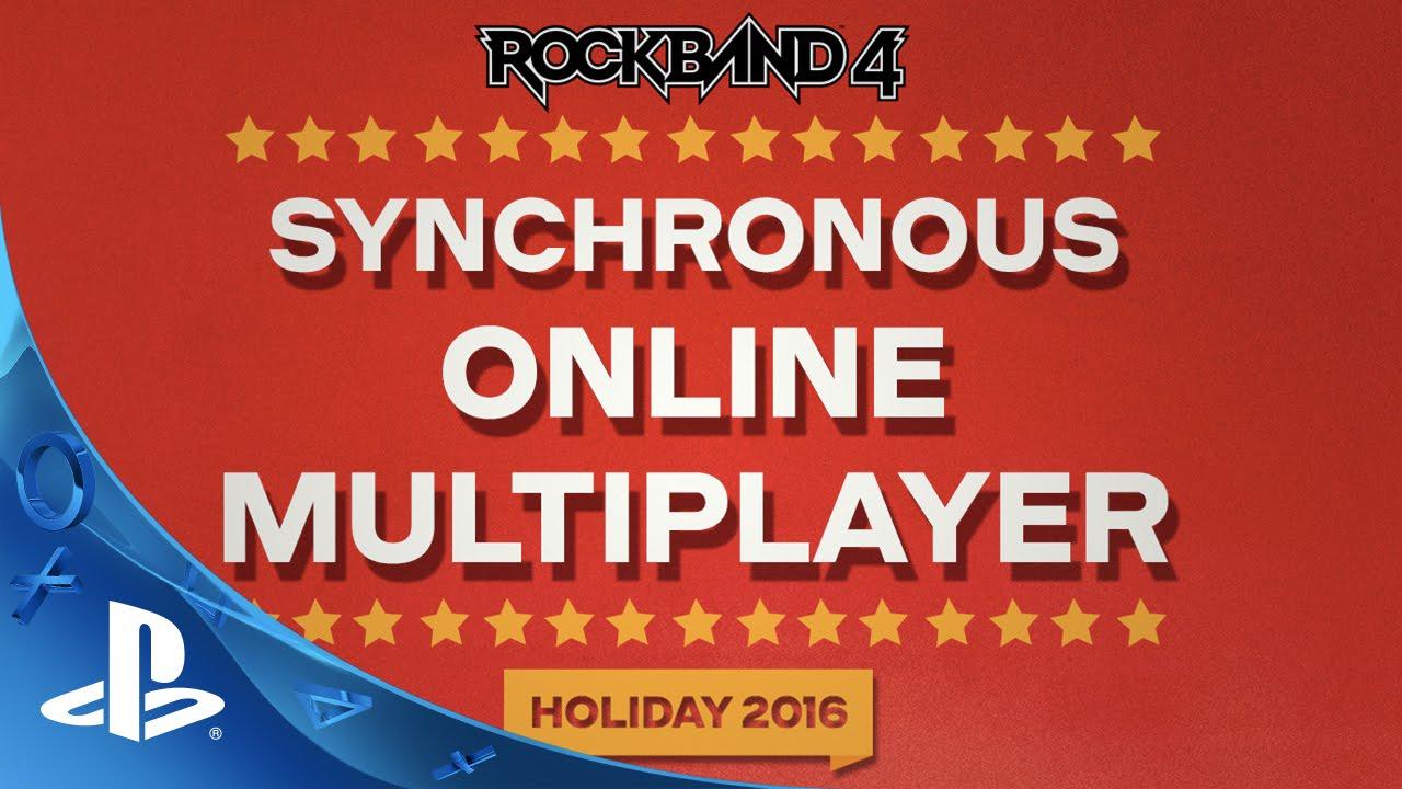 Rock Band 4: El multijugador Online llega este año