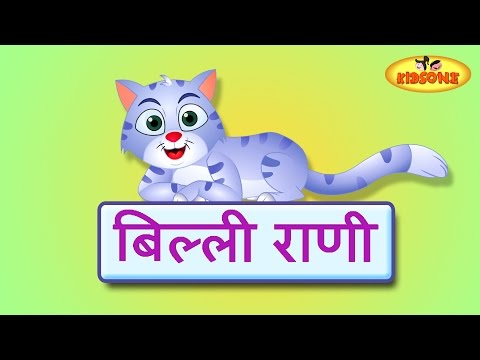 Billi Rani Hindi Nursery Rhymes For Children