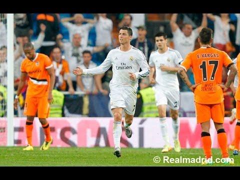best sneakers 785ea 490b8 Cristiano Ronaldo s incredible backheel goal against Valencia (04 05 2014)