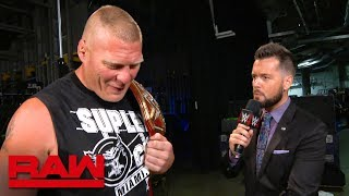Brock Lesnar sends a message to Roman Reigns ahead of SummerSlam: Raw Exclusive, July 30, 2018