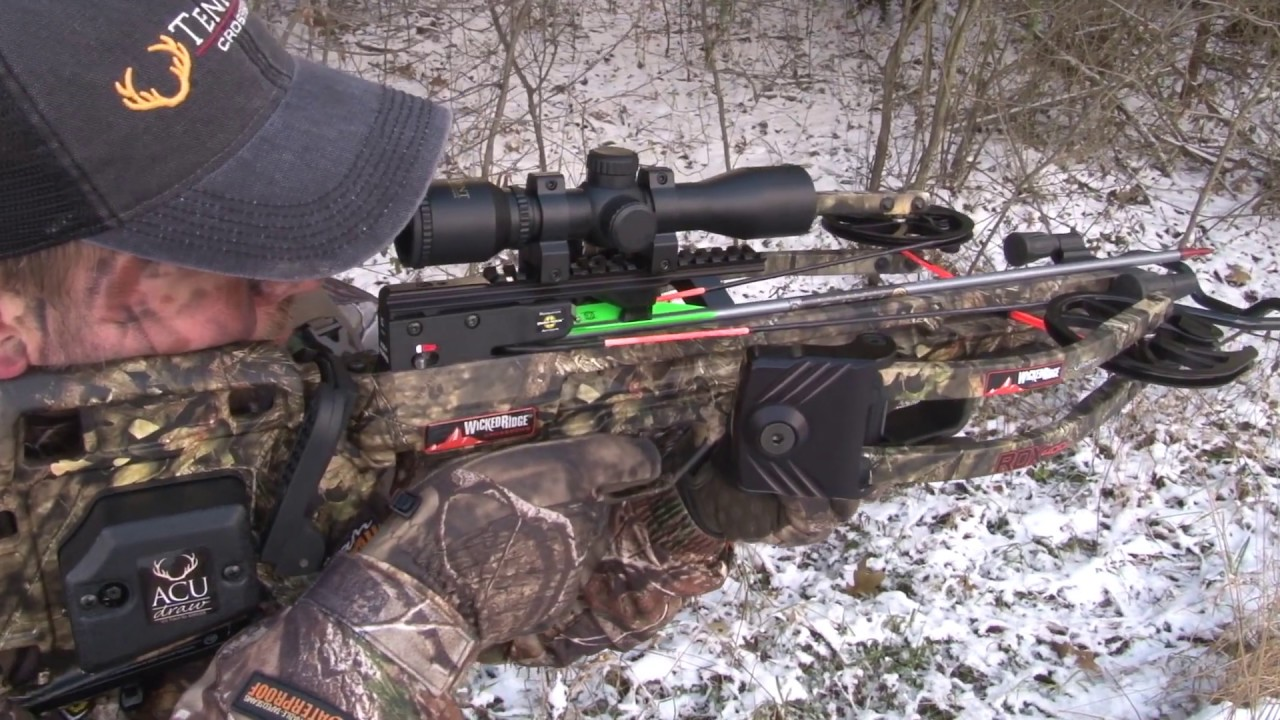 The first Wicked Ridge flagship model, the RDX 400 features a perfectly balanced reverse-draw bow assembly and our Reaper Cam System™ that together deliver consistent down-range accuracy and lighting speeds up to 400 FPS. Focused on speed-to-price ratio, the RDX 400 includes a complete package with a cocking device and Integrated String Stop System.