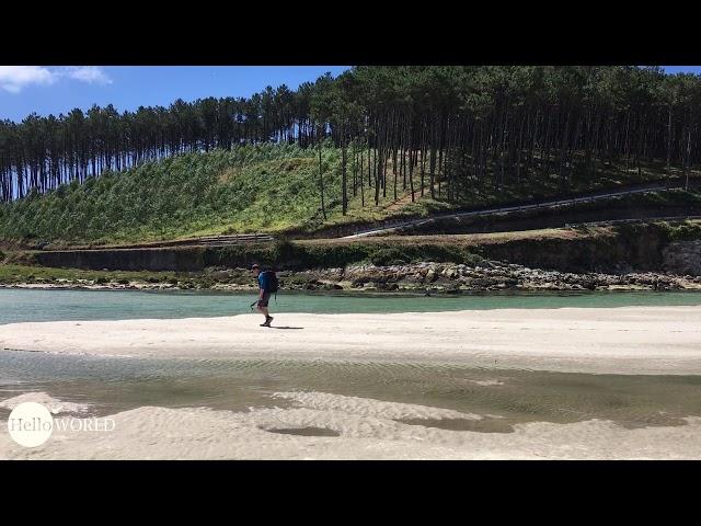 Strandwanderung am Praia de Nemina