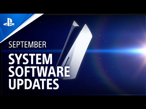 PS5's September System Software Update launches globally tomorrow