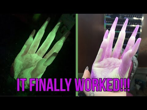 Fay's Hand using Clone-a-Willy Kits