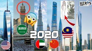 10 Gedung Bangunan Pencakar Langit Tertinggi di Dunia pada Tahun 2020. PNB118 Tersenarai!